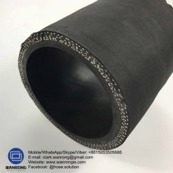 Supply Concrete Placement 85 Bar Hose; Application: For placement of concrete to the casting location; Special Features: Anti static & Abrasion resistant; Tube: NR/SBR, Cover: NR/SBR blend; Reinforcement: Plies of steel cord; WP: 1200 psi; Temperature: -30°C to 80°C; Size Range: 50mm to 125mm