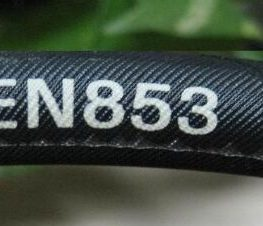 "Supply Hydraulic Hose EN853 1SN Product; Application: Medium pressure hydraulic for mobile, machine tool and agricultural, petroleum or water based hydraulic fluids; Standard: DIN/EN853 1SN; Tube: NBR, Cover: CR; Reinforcement: One layer of high-tensile steel wire braid; Surface: Wrapped and Smooth; Working Pressure: 40~250 bar, Burst Pressure: 160~1000 bar; Working Temperature: -40~120℃; Size Range: 3/16""~2"""