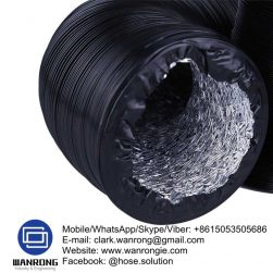Supply Industrial Ducting Hose; Tube: TPR, Cover: TPR; Special Features: UV stabilized; Temperature: -30°C to 140°C; Size Range: 50mm to 300mm