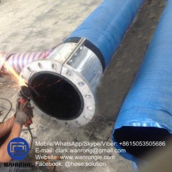 Supply Muff Coupling Hose; Application: Designed for severe applications; Special Features: Abrasion & Ozone resistant, Anti static; Tube: NR, Cover: NR/SBR; Reinforcement: High strength cord + Wire helix; WP: 150 psi; Temperature: -30°C to 80°C; Size Range: 50mm to 300mm