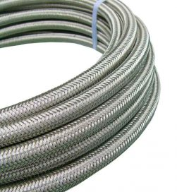 Supply PTFE Teflon Hose; Application: easy to clean and sterilizes particularly suited to arduous flexing over an extended temperature range. Tasteless and odourless ideal for the food and pharmaceutical industries; Size Range: 6mm-100mm; Temperature:-50°C to 260°C