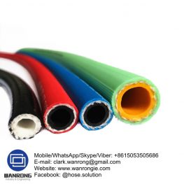 PVC Agriculture Spray Hose Tube: PVC Cover: PVC Reinforcement: High strength polyester braid WP: 600 psi Temperature: -10°C to 60°C Special Features: UV stabilized Size Range: 8mm to 25mm Application: Agricultural chemical spraying. WANRONG INDUSTRY & ENGINEERING LIMITED Mobile/WhatsApp/Skype/Viber: +8615053505686 Tel: +86-18853542801 Email: clark.wanrong@gmail.com Website: https://www.wanrongie.com Facebook: http://www.facebook.com/Industrial.Rubber.Hose LinkedIn: http://www.linkedin.com/showcase/industrial-hoses Twitter: http://twitter.com/hose_solution Pinterest: http://pin.it/zxpd6ttextpgh2 YouTube: http://youtu.be/3BXN_0zlj9E