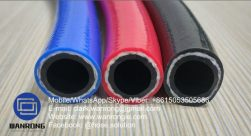 Supply PVC Agriculture Spray Hose; Application: Agricultural chemical spraying; Special Features: UV stabilized; Tube: PVC, Cover: PVC; Reinforcement: High strength polyester braid; WP: 600 psi; Temperature: -10°C to 60°C; Size Range: 8mm to 25mm