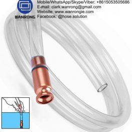 Supply PVC Air Tool Hose; Application: Fluid transfer low temp, flexible; Special Feature: UV stabilised; Tube: White PVC, Cover: Smooth PVC, Reinforcement: HS polyester braid; WP: 300 psi; Temperature: 0°C to 60°C; Size Range: 6mm to 12.5mm