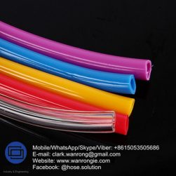 Supply PVC Food Grade Hose for Air & Water Delivery; Application: Non Toxic transfer hose; Special Feature: NON-Toxic; Tube: Clear PVC, Cover: Clear PVC with rib; Reinforcement: High strength polyester braid; WP: 232 to 150 psi; Temperature: -5°C to 60°C;Size Range: 6mm to 50mm