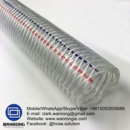Supply PVC Food Grade Hose Tube: Clear PVC Cover: Clear PVC Reinforcement: High strength polyester braid WP: *232 to 150 psi Temperature: -5°C to 60°C Special Features: To AS/NZS 2554, Non-Toxic Size Range: 6mm to 50mm Application: Non toxic transfer hose. WANRONG INDUSTRY & ENGINEERING LIMITED Mobile/WhatsApp/Skype/Viber: +8615053505686 Tel: +86-18853542801 Email: clark.wanrong@gmail.com Website: https://www.wanrongie.com Facebook: http://www.facebook.com/Industrial.Rubber.Hose LinkedIn: http://www.linkedin.com/showcase/industrial-hoses Twitter: http://twitter.com/hose_solution Pinterest: http://pin.it/nfbqn5vua74vqm YouTube: http://youtu.be/EvRqf24XeCc
