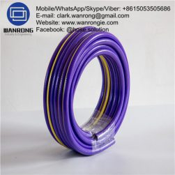 PVC Water Sullage Hose Tube: PVC Cover: PVC Reinforcement: High strength polyester braid WP: 145 psi Temperature: -5°C to 60°C Special Features: UV stabilized Size Range: 20mm to 25mm Application: Watering parks/gardens with grey water. WANRONG INDUSTRY & ENGINEERING LIMITED Mobile/WhatsApp/Skype/Viber: +8615053505686 Tel: +86-18853542801 Email: clark.wanrong@gmail.com Website: https://www.wanrongie.com Facebook: http://www.facebook.com/Industrial.Rubber.Hose LinkedIn: http://www.linkedin.com/showcase/industrial-hoses Twitter: http://twitter.com/hose_solution Pinterest: http://pin.it/vyrm6w2dcfzrrk YouTube: http://youtu.be/FUEx5NJFpZ8
