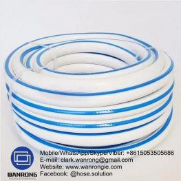 Supply Park Dairy Washdown Hose; Application: Cold water wash down; Special Features: Abrasion resistant & Flexible; Tube: PP, Cover: PP; Reinforcement: HS Polyester braid; WP: 145 psi; Temperature: -5°C to 60°C; Size Range: 12.5mm to 40mm
