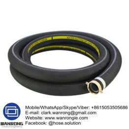 Supply Petrol/Oil Delivery Hose; Application: Petroleum transfer; Special Features: Conductive & UV stabilized; Tube: NBR, Cover: SBR; Reinforcement: High strength synthetic cord; WP: 150 psi; Temperature: -20°C to 70°C; Size Range: 19mm to 75mm