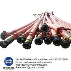 Supply RC Drill Hose; Application: High pressure reverse cycle drill rigs; Special Features: Abrasion & Ozone resistant; Tube: NBR, Cover: NR; Reinforcement: High strength cord + Wire helix; WP: 500 psi; Temperature: -40°C to 120°C; Size Range: 50mm to 100mm