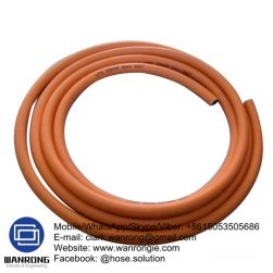 Supply Single Line LPG Hose; Application: Conveying LPG; Tube: NBR, Cover: NBR/PVC; Reinforcement: High strength polyester braid; WP: 375 psi; Special Features: To AS 1869 class C; Temperature: -20°C to 75°C; Size Range: 5mm to 10mm