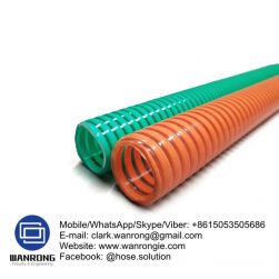 Supply Spiralite Suction Hose; Application: Suitable for suction and delivery; Special Features: Anti static & Abrasion resistant; Tube: NR, Cover: NR; Reinforcement: Rigid PVC helix; WP: 35 to 20 psi; Temperature: -30°C to 60°C; Size Range: 50mm to 200mm