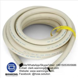 Steam Hot Washdown Hose Tube: EPDM Cover: EPDM Reinforcement: High strength synthetic cord WP: 87 psi Temperature: -30°C to 160°C Special Features: Wrapped finish, Ozone resistant Size Range: 12.5mm to 25mm Application: Saturated steam & hot water wash down WANRONG INDUSTRY & ENGINEERING LIMITED Mobile/WhatsApp/Skype/Viber: +8615053505686 Tel: +86-18853542801 Email: clark.wanrong@gmail.com Website: https://www.wanrongie.com Facebook: http://www.facebook.com/Industrial.Rubber.Hose LinkedIn: http://www.linkedin.com/showcase/industrial-hoses Twitter: http://twitter.com/hose_solution