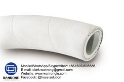 Supply Steam Hot Washdown Hose; Application: Saturated steam & hot water wash down; Special Features: Wrapped finish, Ozone resistant; Tube: EPDM, Cover: EPDM; Reinforcement: High strength synthetic cord; WP: 87 psi; Temperature: -30°C to 160°C; Size Range: 12.5mm to 25mm