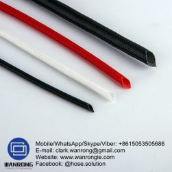 Supply Tetra Glass Braided Tubing; Application: Protect hose and cables; Special Features: API 16D approved; Material: Textured Silica; Temperature: 1650°C; Size Range: 10mm to 125mm