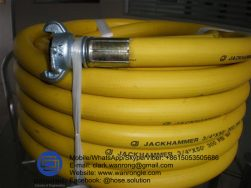 Supply Air Hose Assembly; Application: Economical general purpose air hose. Abrasive, heat and ozone resistant. Construction and industrial sites, general maintenance; Also Available: With Sure lock couplings; Construction: Hose fitted with A-Type Couplings & Claw Clamps; Assembly WP: 200 psi; Temperature Range: -25°C to 75°C; ID Sizes: 20mm & 25mm; Standard Lengths: 20m