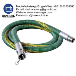 Supply Composite Chemical Hose Assembly; Application: Anti-Static lightweight, robust and flexible suction and delivery hose for a wide range of chemicals. Hard wearing and cost effective. Used on plant, rail and road tankers for chemical transfer. Mine sites, chemical manufacturing plants; Also Available: Different wire options; Standards: Electrically resistant to less than 10 ohms, as required by BS 5842:1980 clause 6.2. Hose assembly in accordance with EN 13765:2003; Temperature Range: -40°C to 80°C; ID Sizes: 25mm to 100mm; Standard Lengths: 20m & 30m (lengths may vary between sizes)
