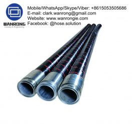 Concrete Placement Hose Assembly Assembly WP: 580 psi Temperature Range: -40°C to 70°C ID Sizes: 50mm to 100mm Standard Lengths: 20m Construction: Hose fitted with Internally Swaged Shouldered Ends Application: High abrasion resistant hose designed for spraying of plaster, grout, gypsum and concrete. Industries include construction and mining and associated sub-contractors Also Available: 1200psi WP concrete placement hose WANRONG INDUSTRY & ENGINEERING LIMITED Mobile/WhatsApp/Skype/Viber: +8615053505686 Tel: +86-18853542801 Email: clark.wanrong@gmail.com Website: https://www.wanrongie.com Facebook: http://www.facebook.com/Hose.Assembly.Supplier LinkedIn: http://www.linkedin.com/showcase/hose-assembly-solution Twitter: http://twitter.com/hose_solution Pinterest: http://pin.it/qhnmmmnjr4ubcv YouTube: http://youtu.be/dlz7S48KKKo