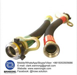 Supply Drilling Hose Assembly; Application: Designed for use on reverse cycle drill rigs, where a high pressure abrasion resistance hose is required. Mining drill rigs exploration companies; Also Available: High pressure steel air hose assemblies for drill rig air lines. Cable stockings are recommended; Construction: Hose fitted with Ground Joints & Clamps; Assembly WP: 375 psi; Temperature Range: -40°C to 120°C; ID Sizes: 50mm to 100mm; Standard Lengths: 20m