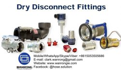 Dry Disconnect Fittings Supplier