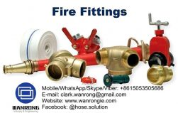 Supply Fire Hose Fittings: Fire hose, reels, fire department connections, wrenches, hydrant adapters, swivels, nipples, valves, thermoplastic, brass and aluminum nozzles, Storz fittings, LDH hardware