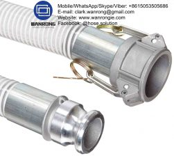 Supply Heavy Duty Suction Hose Assembly; Application: Economical general purpose PVC suction delivery hose for water, mud etc. Used in agriculture and industry using tank trucks; Also Available: A large variety of PVC suction hoses to suit different applications. Variety of end configurations and clamping; Construction: Hose fitted with Camlocks & Pre-Form Clamps; Assembly WP: 58 to 250 psi; Temperature Range: -5°C to 60°C; ID Sizes: 25mm to 125mm; Standard Lengths: 20m & 50m