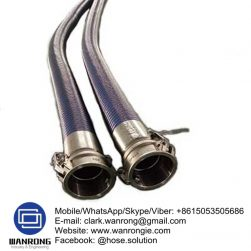 Supply Petrol & Oil Delivery Hose Assembly; Application: Anti-static lightweight and flexible suction and delivery hose for a wide variety of hydrocarbons where 100% aromatic resistance is required. Hard wearing and cost effective. Used on plant, rail, and road tankers for the transfer of fuels. Fuel depots and refineries, transport contractors; Also Available: Vapour recovery hose assemblies. Bayco Petroleum products; Temperature Range: -40°C to 80°C; ID Sizes: 25mm to 100mm; Standard Lengths: 25m & 30m (lengths vary between sizes); Standards: Electrically resistant to less than 10 ohms, as required by BS 5842:1980 clause 6.2. Hose assembly in accordance with EN 13765:2003