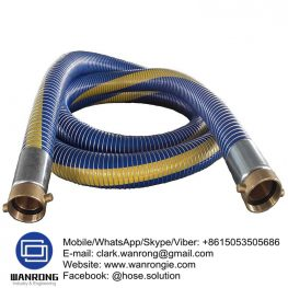 Petrol & Oil Delivery Hose Assembly Temperature Range: -40°C to 80°C ID Sizes: 25mm to 100mm Standard Lengths: 25m & 30m (lengths vary between sizes) Standards: Electrically resistant to less than 10 ohms, as required by BS 5842:1980 clause 6.2. Hose assembly in accordance with EN 13765:2003 Application: Anti-static lightweight and flexible suction and delivery hose for a wide variety of hydrocarbons where 100% aromatic resistance is required. Hard wearing and cost effective. Used on plant, rail, and road tankers for the transfer of fuels. Fuel depots and refineries, transport contractors. Also Available: Vapour recovery hose assemblies. Bayco Petroleum products. WANRONG INDUSTRY & ENGINEERING LIMITED Mobile/WhatsApp/Skype/Viber: +8615053505686 Tel: +86-18853542801 Email: clark.wanrong@gmail.com Website: https://www.wanrongie.com Facebook: http://www.facebook.com/Hose.Assembly.Supplier LinkedIn: http://www.linkedin.com/showcase/hose-assembly-solution Twitter: http://twitter.com/hose_solution Pinterest: http://pin.it/utfetroojnrf2e YouTube: http://youtu.be/zpGhfkr-HlM