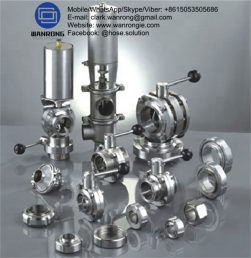 Supply Sanitary Fittings: Clamp fittings, 3A gaskets, weld fittings, bevel seat fittings, John Perry, Q-Line, and I-line fittings, buttweld fittings, tube OD fittings & hangers, ball valves, butterfly valves, check valves