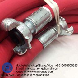 Supply Super Air & Water Delivery Hose Assembly; Application: Heavy Duty Air & Water hose assembly suitable for a range of industries including construction sites and mining, both underground and open pit; Also Available: A-Type Couplings. Couplings also available in Stainless Steel; Construction: Super Air/Water Delivery Hose Fitted with Sure lock Coupling and Claw Clamp; Assembly WP: 300 psi; Temperature Range: -30°C to 70°C; ID Sizes: 12mm, 19mm, 25mm, 32mm, 40mm, 50mm, 80mm; Standard Lengths: 20m