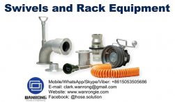 Supply Swivels and Rack Equipment: Swivels, safety break-away couplings, TTMA flange adapters, API couplers, API rack cords, flanged sight flow indicators, TTMA flange extensions, Type 35 loading arm swivel