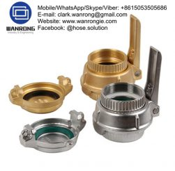 Supply Tank Truck Fittings: Tight and loose fill couplers and adapters, shank couplings, pipe caps, sight flow indicators, reducers and adapters for tank trucks, hose swivels, hose nozzles, rack cords, dry disconnects, nozzles