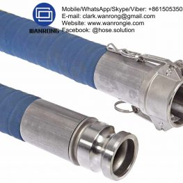 Supply UHMWPE Chemical Hose Assembly; Application: Chemical transfer hose suitable for most common chemicals. Clamps and seals for particular chemicals. Refineries, chemical plants, mine sites, fertilizer plants; Also Available: A variety of end combinations available subject to media compatibility; Construction: Hose fitted with EZ Boss-Lock Camlocks; Temperature Range: -20°C to 100°C; ID Sizes: 19mm to 100mm; Standard Lengths: 20m
